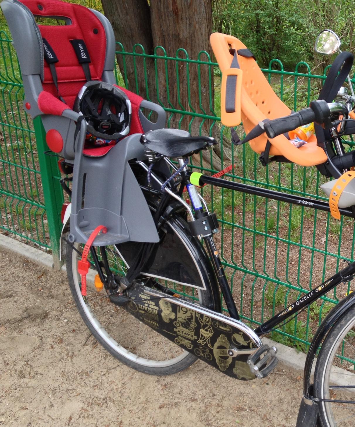Fotelik rowery Romer Jockey Comofrt