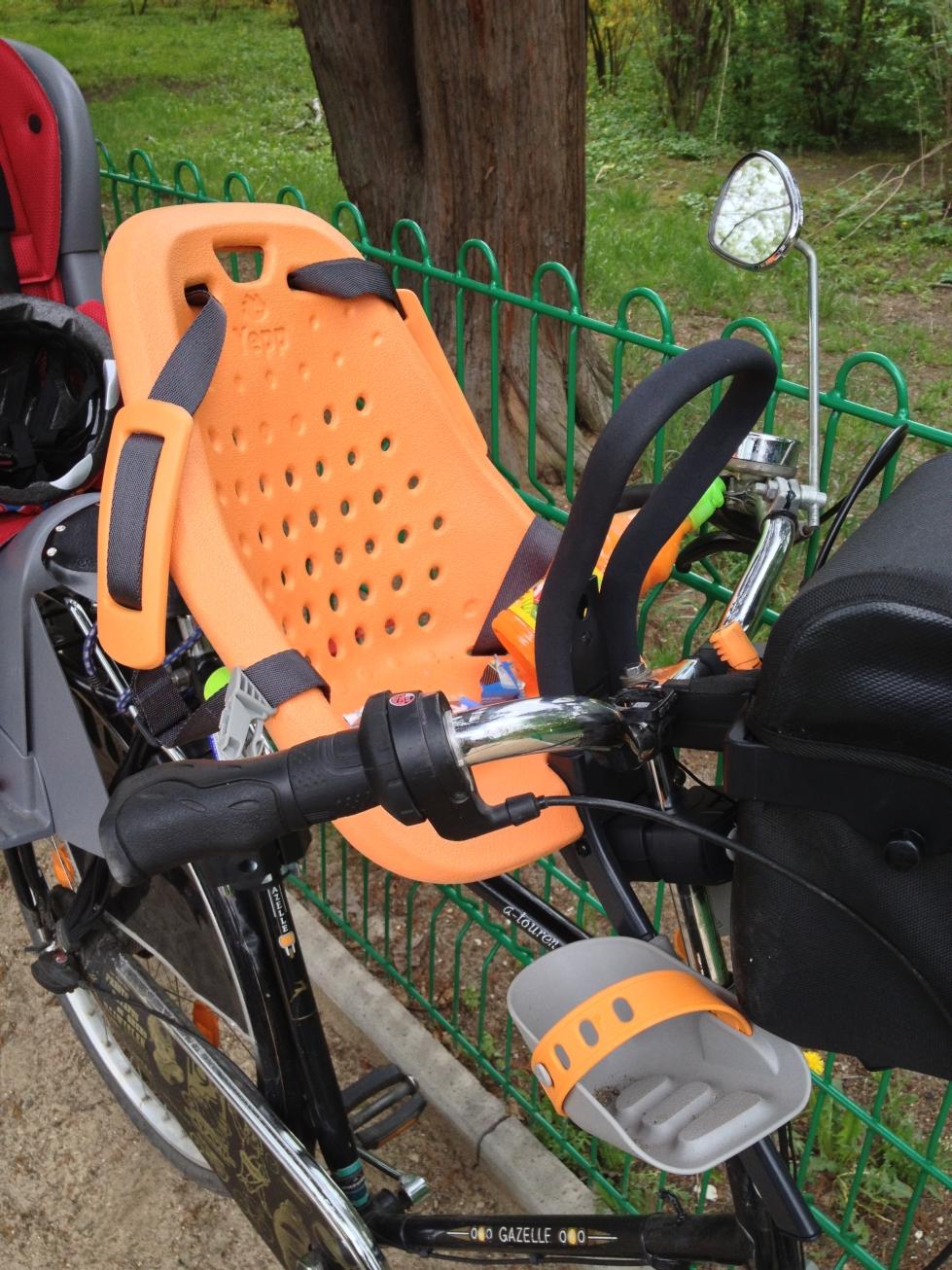 Przedni fotelik rowery Yepp Mini