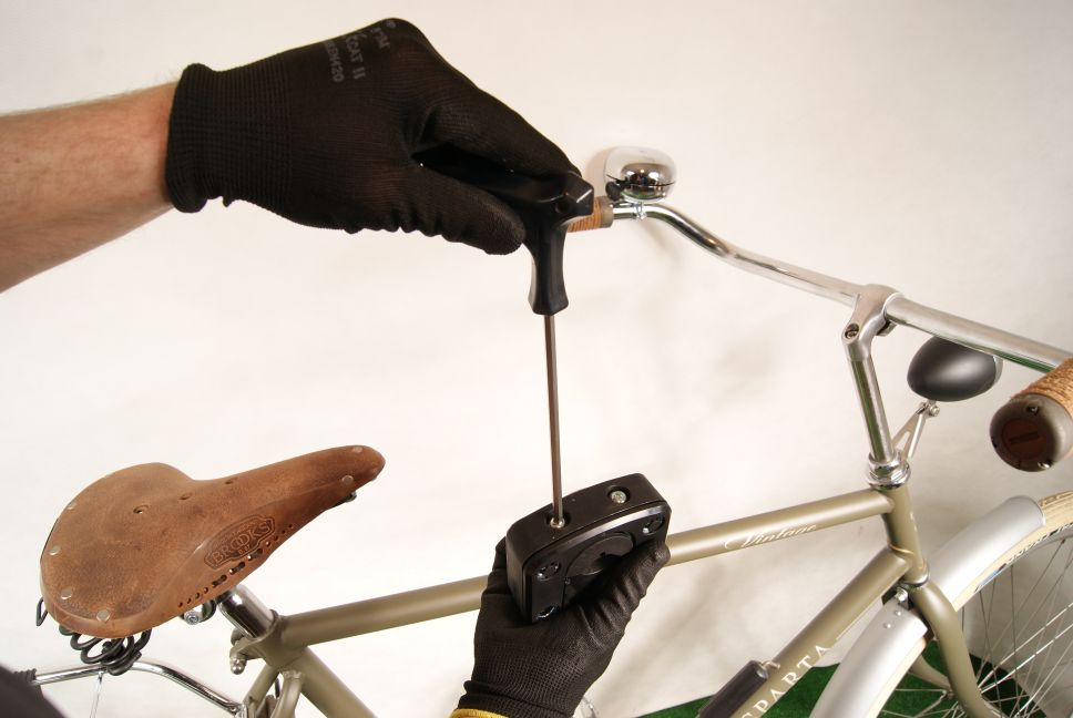 Uchwyt Montaż przedniego fotelika rowerowego Bobike Mini City