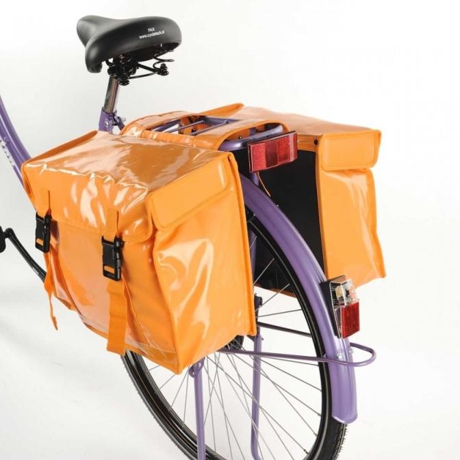 Torba rowerowa podwójna New looxs Bisonyl
