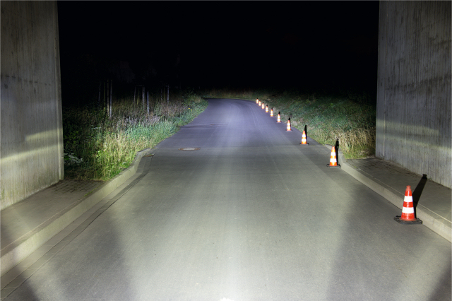 Lampka rowerowa o mocy  70 LUX