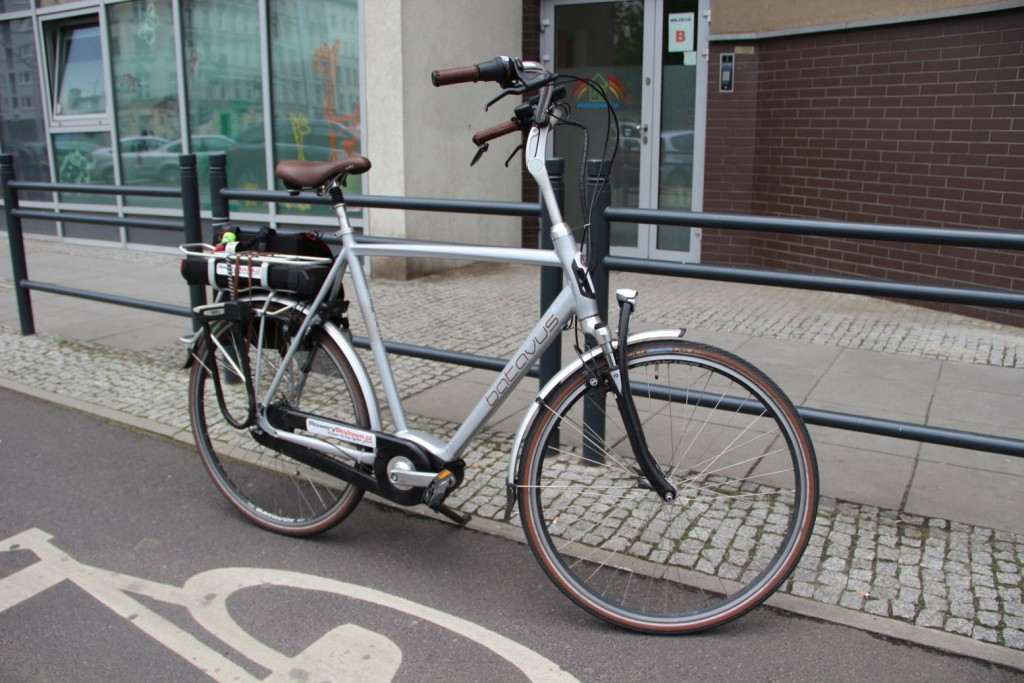 Rower elektryczny Yamaha Batavus Stream IMG_0919