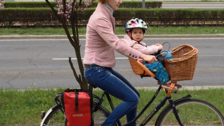 Przedni fotelik rowerowy Yepp Mini IMG_1690