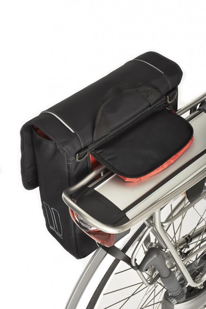 Basil Hook On-system montaż sakwy rowerowej