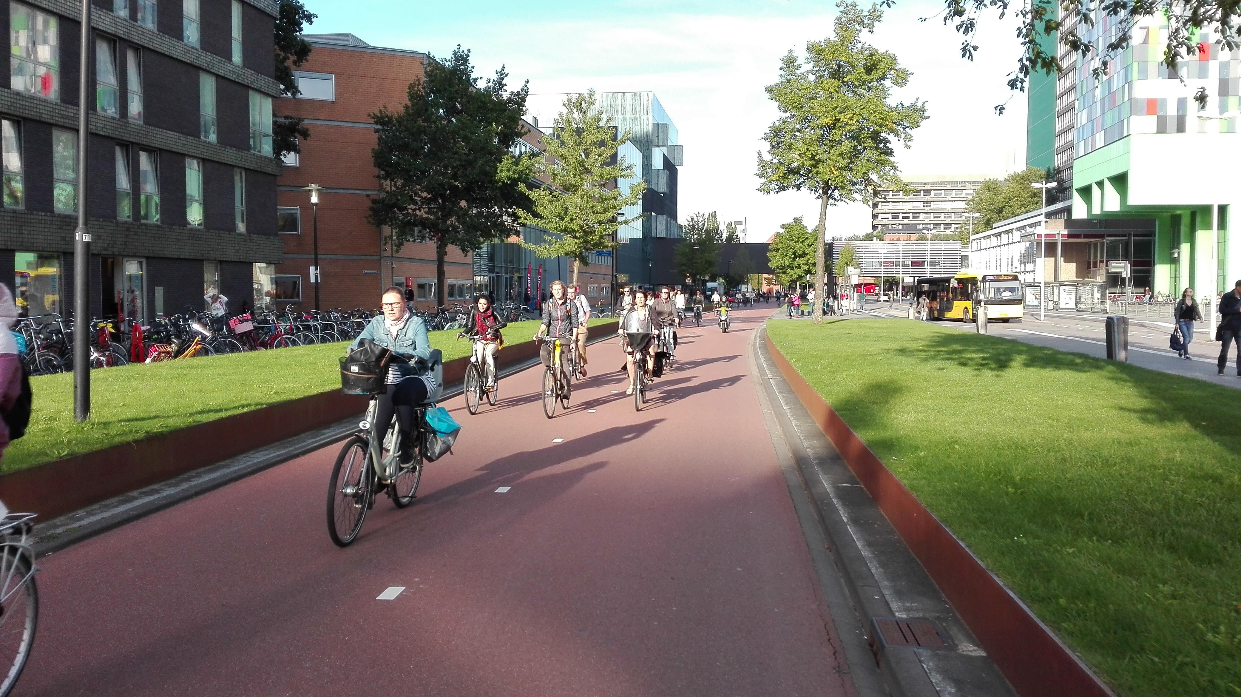 University_Utrecht_drogi_rowerowe_1
