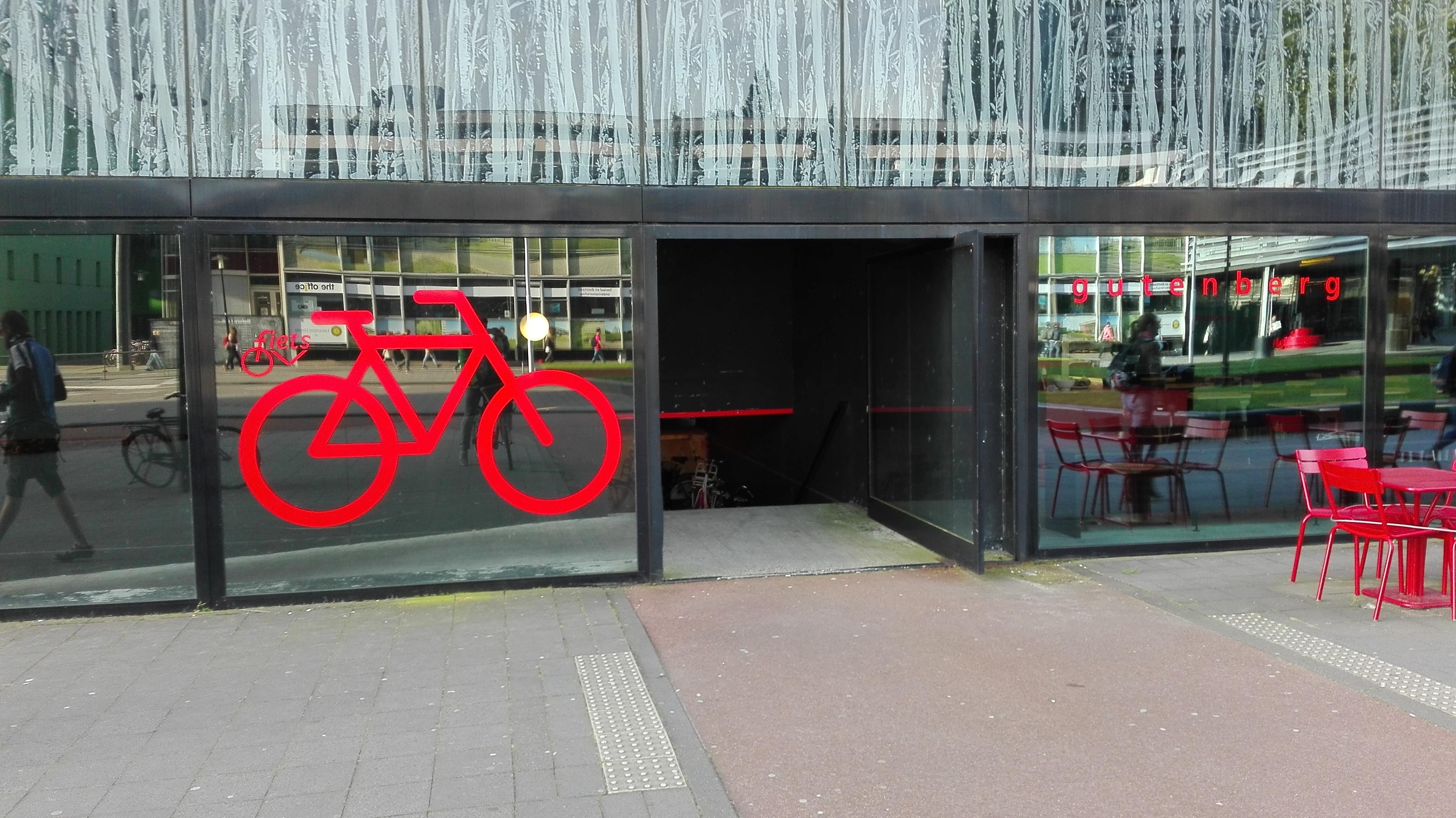 Parking dla rowerów w Holandii