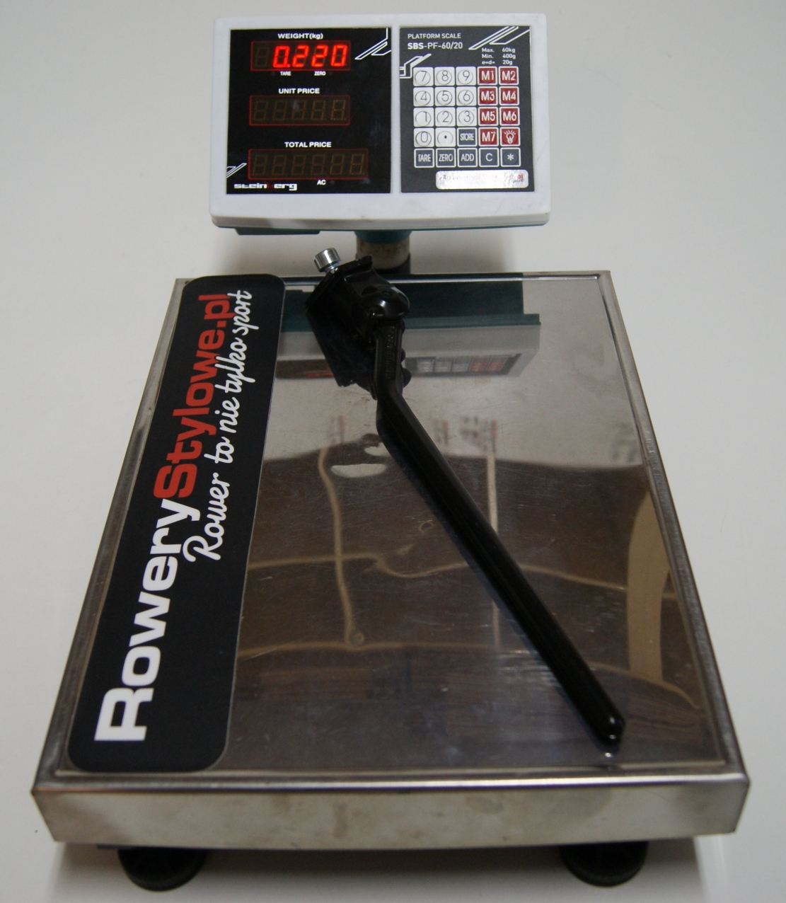 Nóżka rowerowa Pletscher Center Kickstands  220 gram