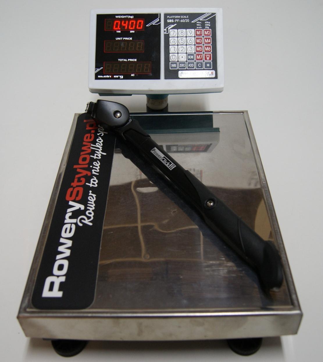 Nóżka rowerowa Gazelle PowerClick II  400 gram