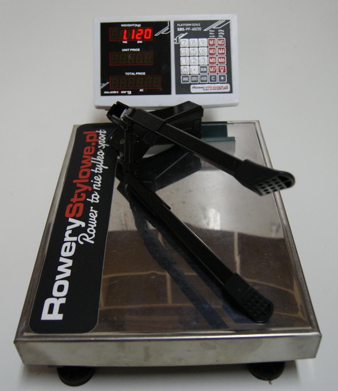 Nóżka rowerowa dwustronna URSUS Hopper - do 50 kg waga 1120 gram