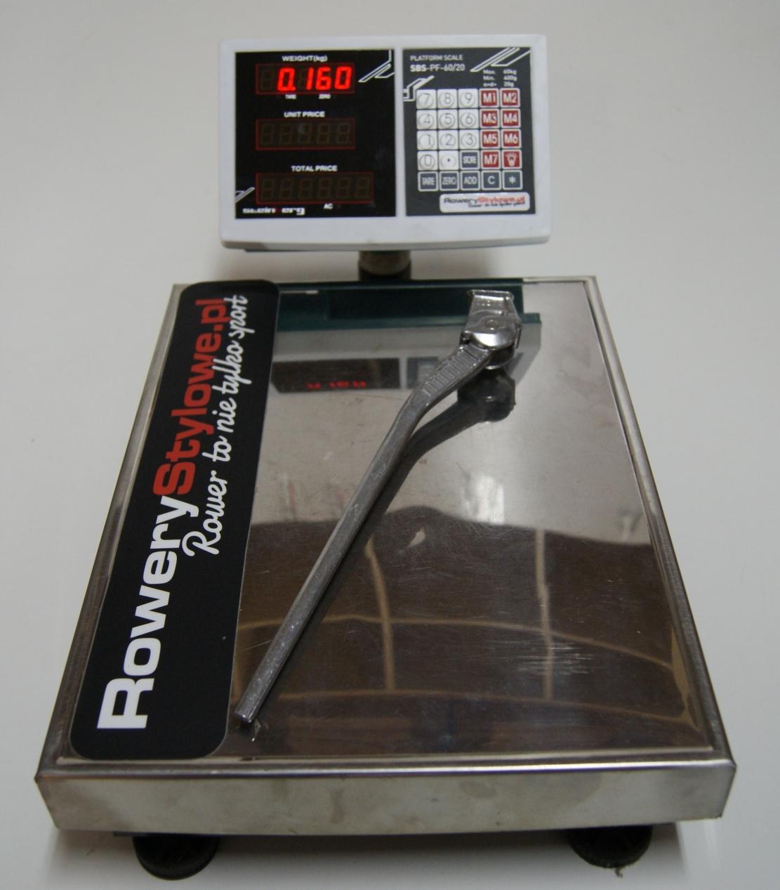 Nóżka rowerowa Olona Classic ALU  160 gram