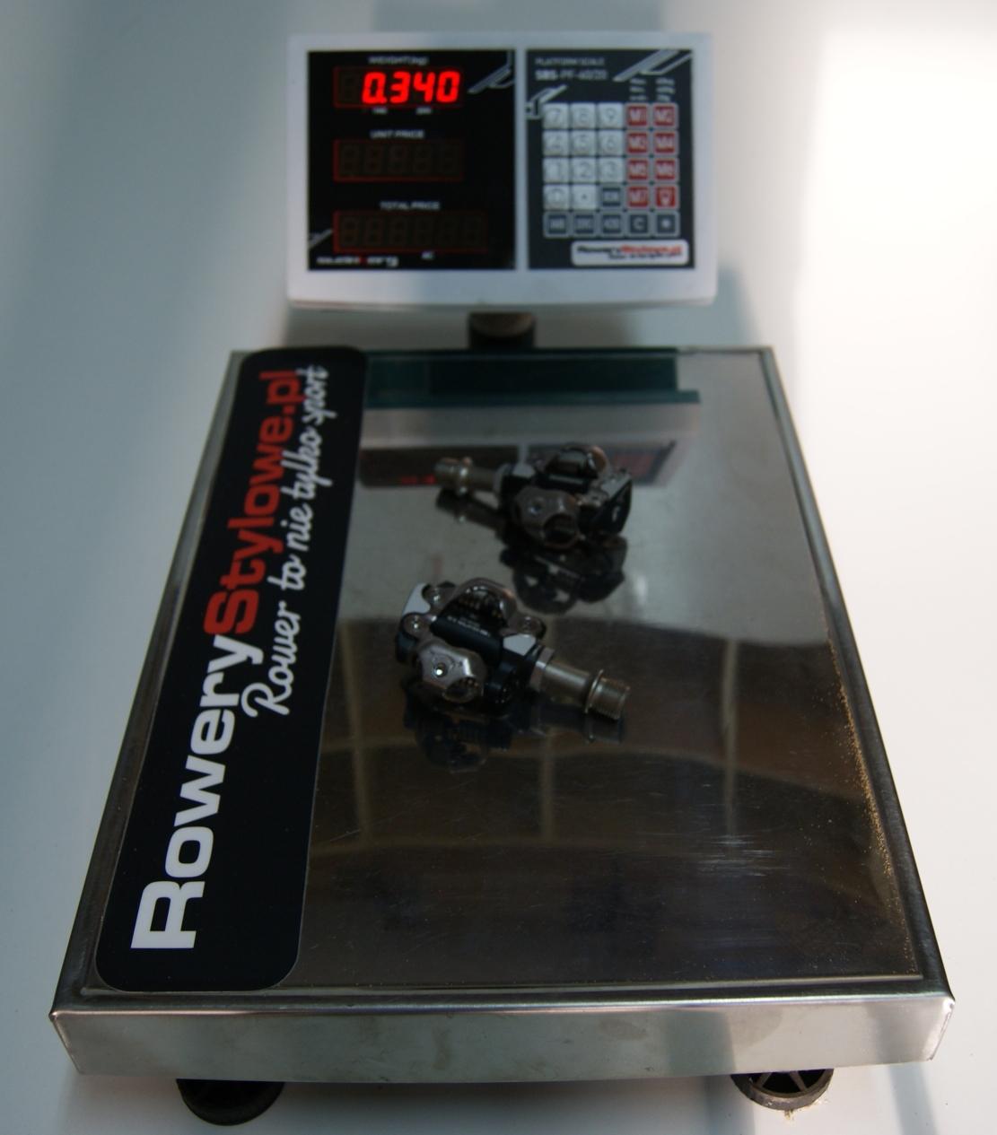 Pedały rowerowe SHIMANO SPD PD-M520 waga 340 gram BEZ BLOKÓW