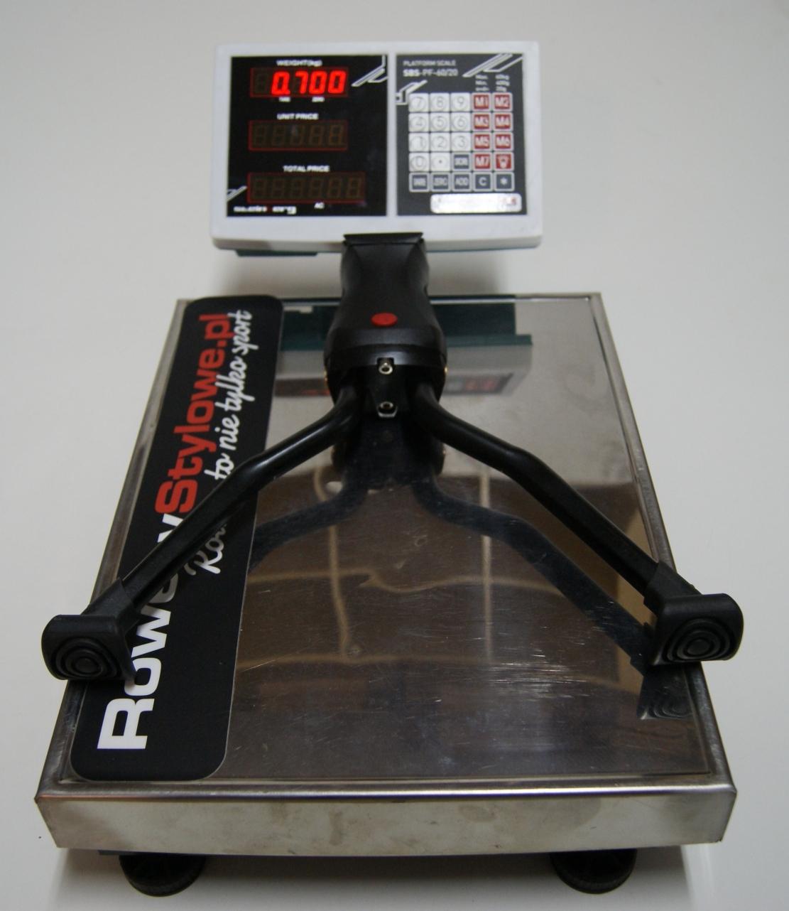 Podwójna nóżka rowerowa Hebie Fold REX do 80 kg 700 gram