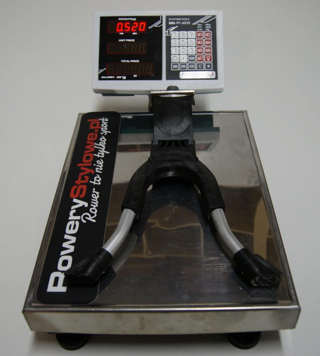 Podwójna nóżka rowerowa Hebie Light REX t 690 520 gram