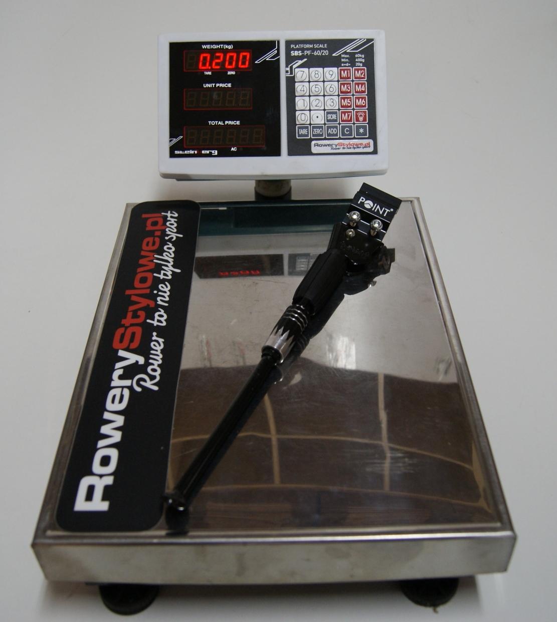 Uniwersalna nóżka rowerowa tylna POINT CD 105 200 gram