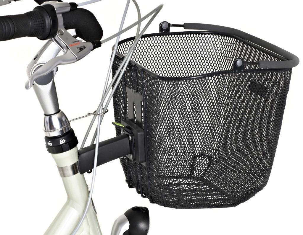 Uchwyt koszyka rowerowego Basil na ramę Basil BasEasy-system