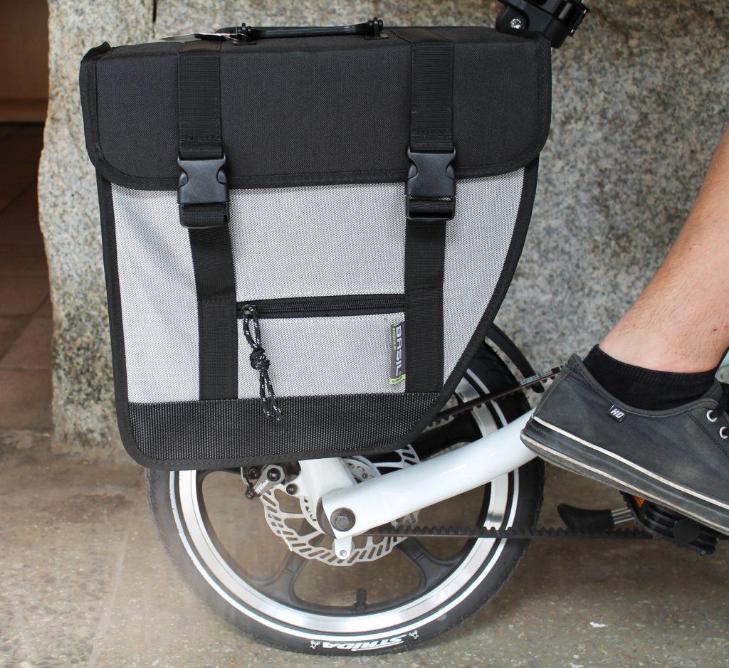torba rowerowa na bagażnik STRIDA Basil Tour Single