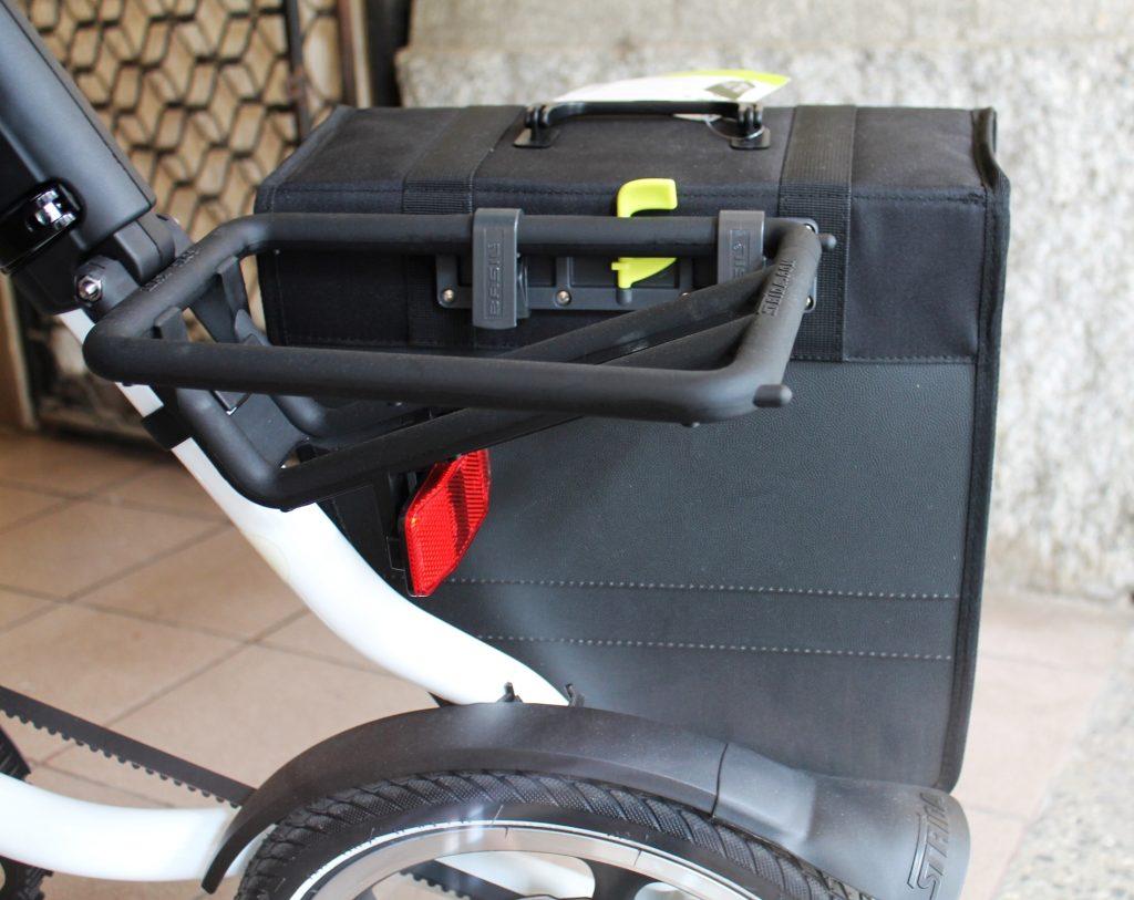 Torba rowerowa Basil Tour Single na bagażniku STRIDA LT