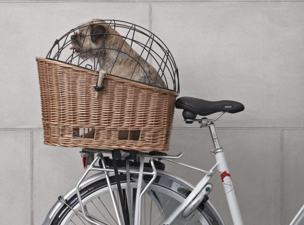 koszyk rowerowy dla psa kota zwierząt basil senna
