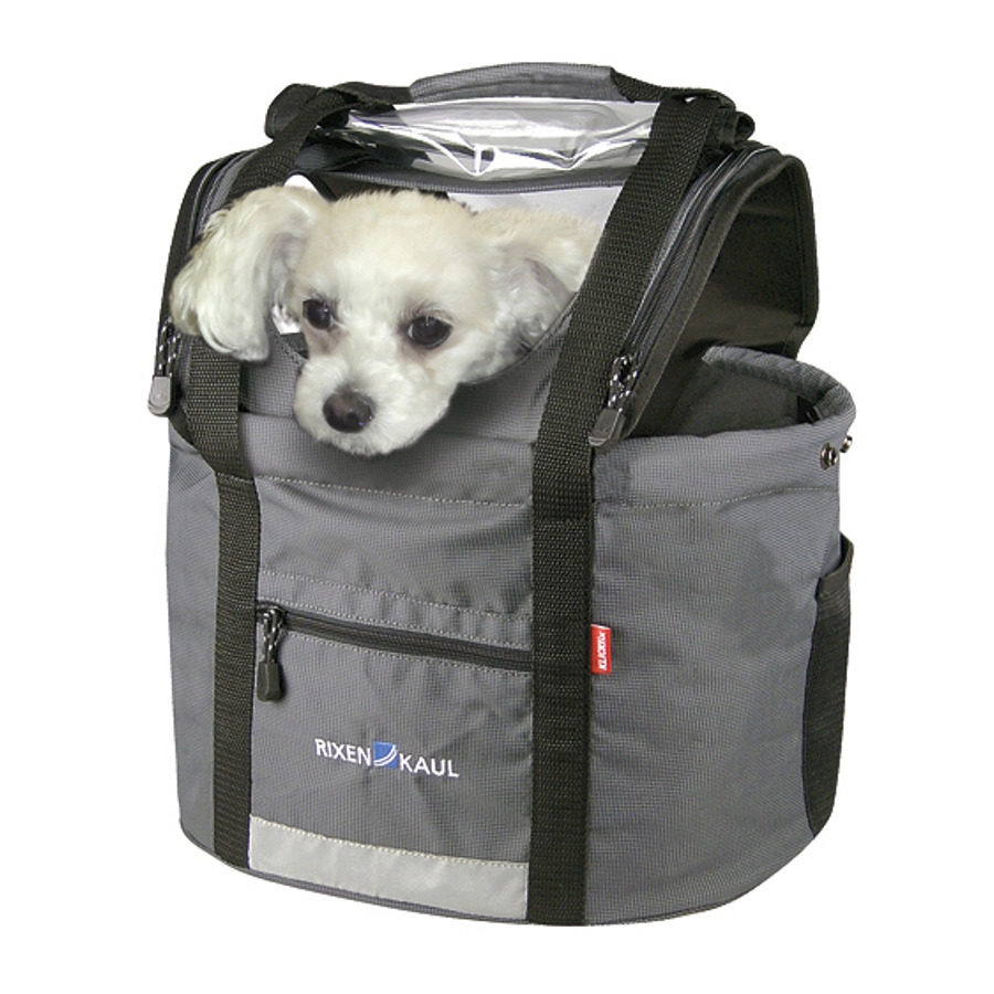 koszyk rowerowy dla psa kota zwierząt klickfix doggy