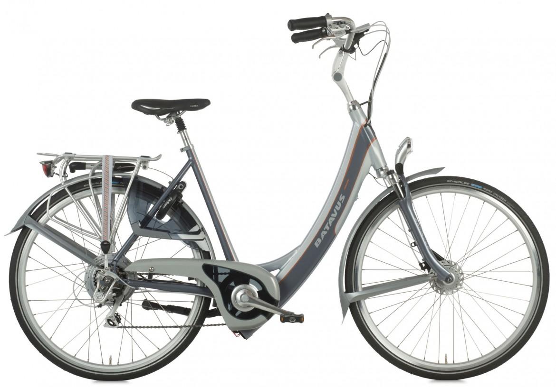 rower elektryczny z bateria w ramie batavus ION padova