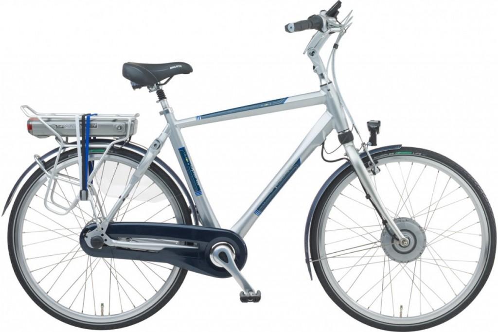 rower elektryczny z bateria w ramie sparta ION RX z bateria na bagazniku