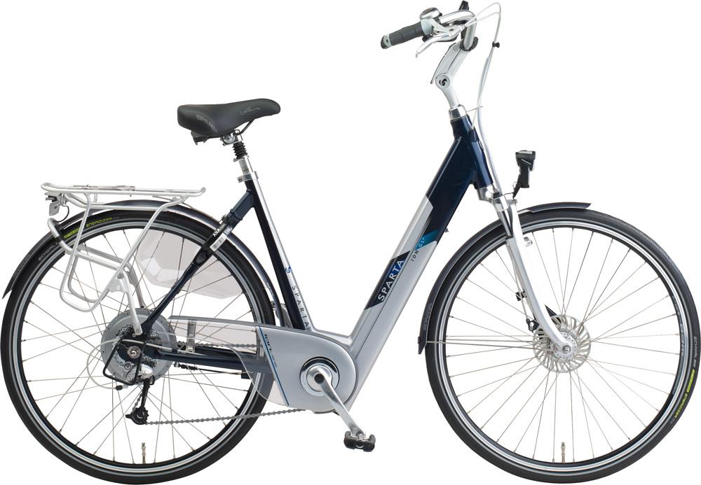 rower elektryczny z bateria w ramie sparta ION