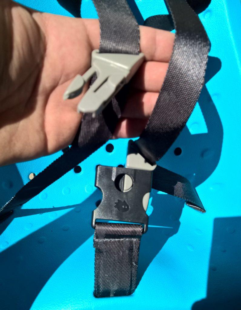 Fotelik rowerowy tylny Yepp Maxi EasyFit pasy zapinane