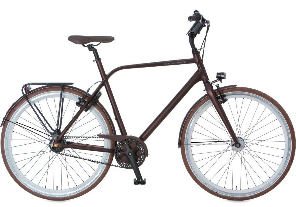 Rower na pasku Cortina Mozzo Nexus 8