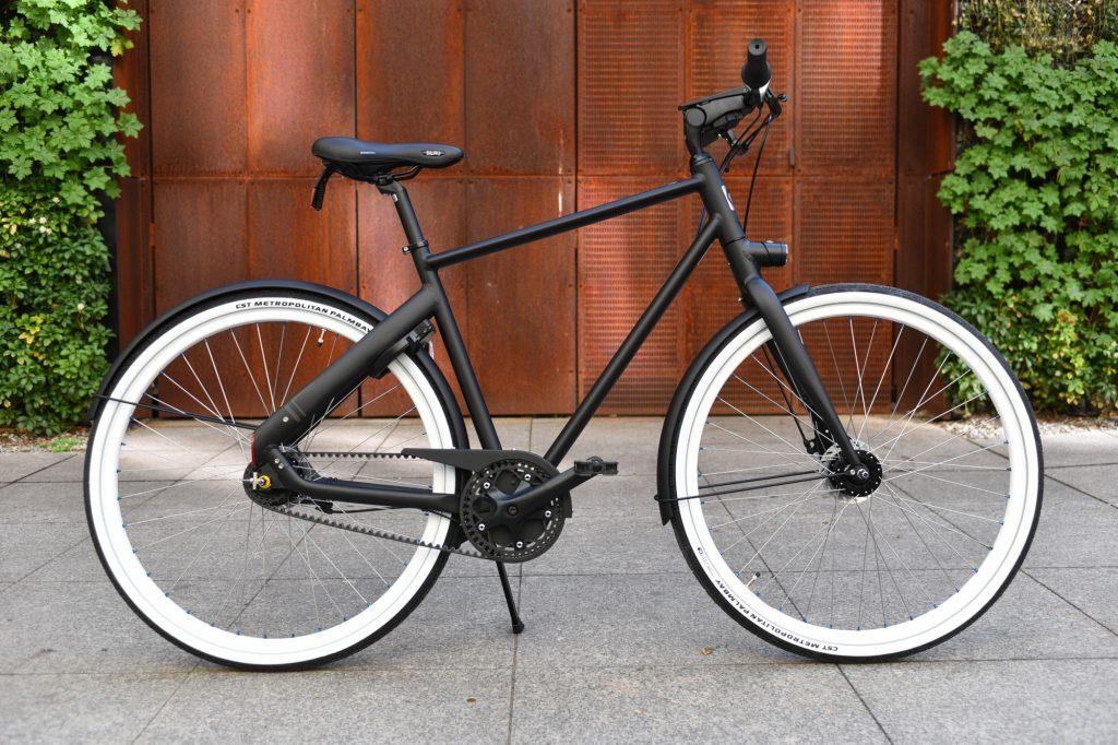 Rower na pasku Cortina Blau Nexus 7 Black Mat