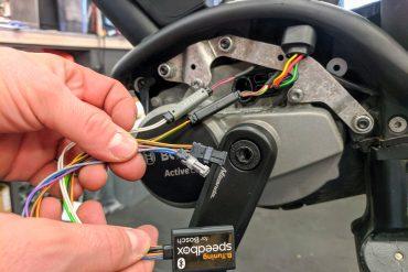 chip tuning rower elektryczny