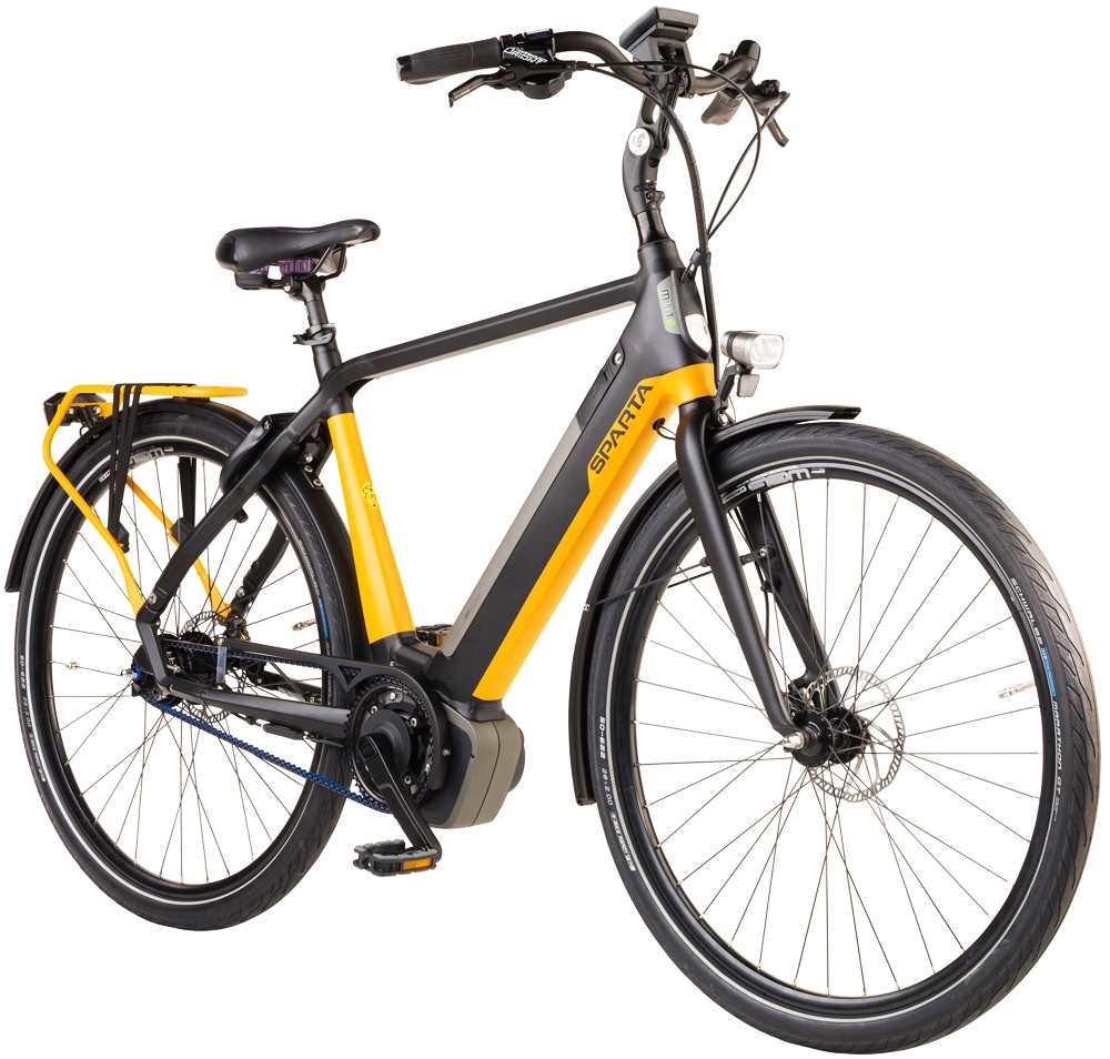 Rower elektryczny na pasku Sparta M11Ti Smart Ltd Yamaha 500Wh